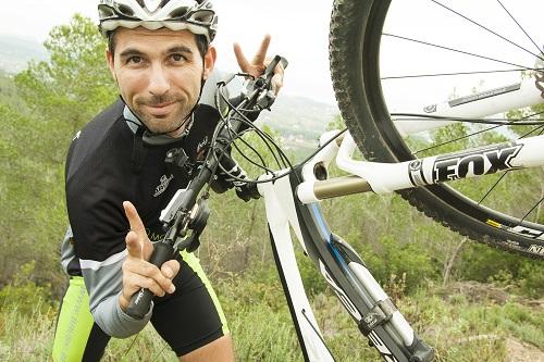 Mountainbike reizen lente