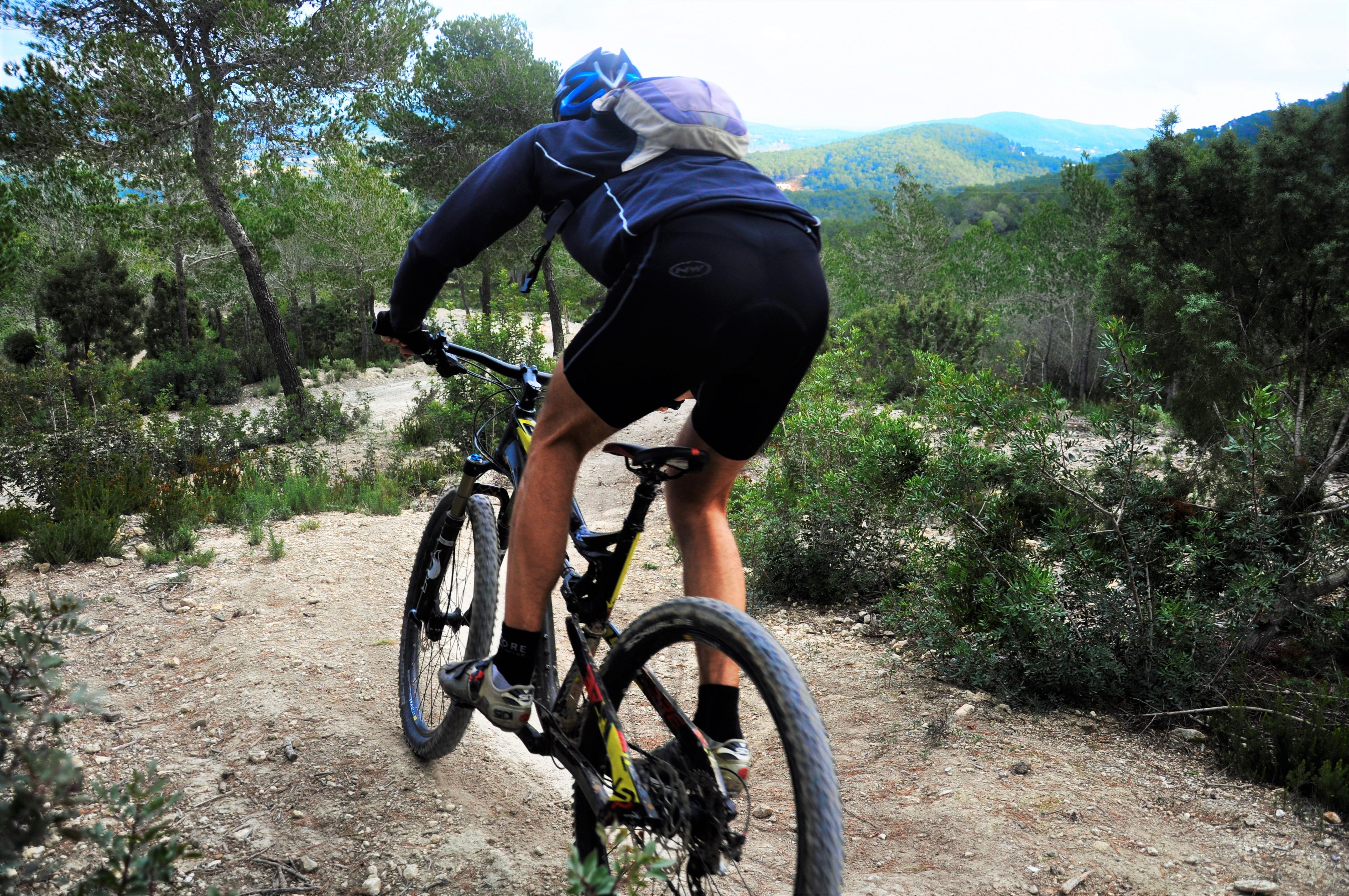 Mountainbike competities in Ibiza